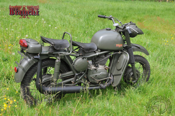 Bianchi MT 61 (Moto Tattico) motocyclette motorrad motorcycle vintage classic classique scooter roller moto scooter
