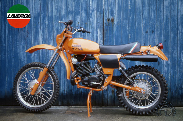 Laverda Enduro motocyclette motorrad motorcycle vintage classic classique scooter roller moto scooter