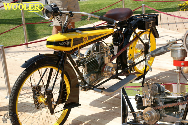 Wooler 2 3/4 HP Flying banana motocyclette motorrad motorcycle vintage classic classique scooter roller moto scooter