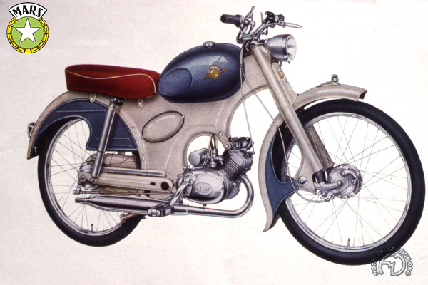 Collection Moto Mars 50 1956-1958