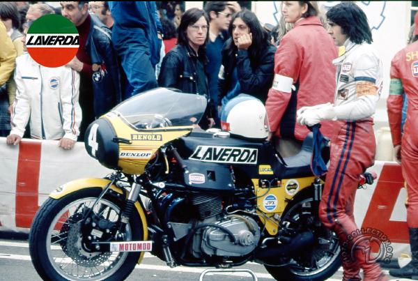 Laverda Di Fazio - Bol dOr motocyclette motorrad motorcycle vintage classic classique scooter roller moto scooter
