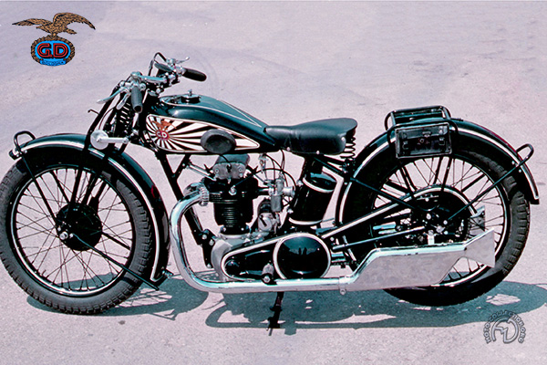 Collection Moto GD 175 1931-