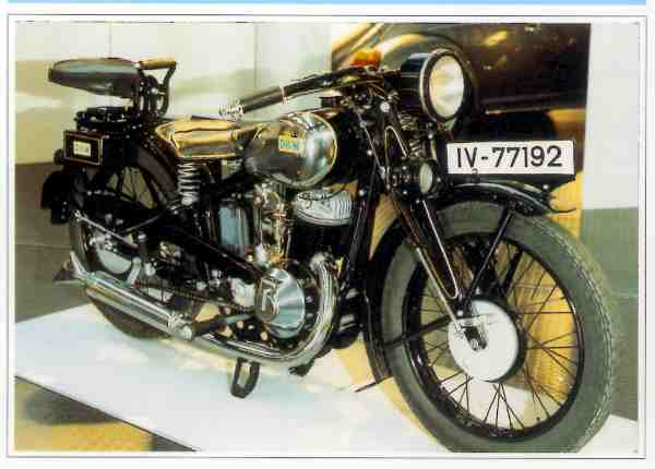 Collection Moto DKW 350 1931-1932