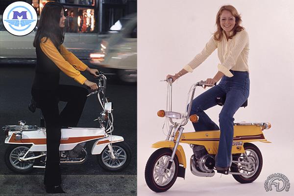 Motobécane - Motoconfort X1 et X7 Mobyx motocyclette motorrad motorcycle vintage classic classique scooter roller moto scooter