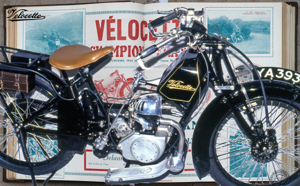 Velocette Ladie's model motocyclette motorrad motorcycle vintage classic classique scooter roller moto scooter