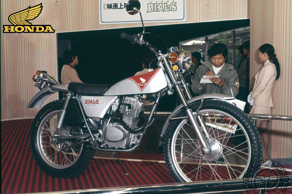 Honda TL Bials motocyclette motorrad motorcycle vintage classic classique scooter roller moto scooter
