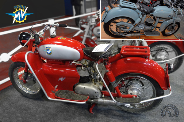MV Agusta Pullman motocyclette motorrad motorcycle vintage classic classique scooter roller moto scooter