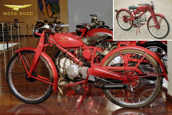 Moto Guzzi  Guzzino motocyclette motorrad motorcycle vintage classic classique scooter roller moto scooter