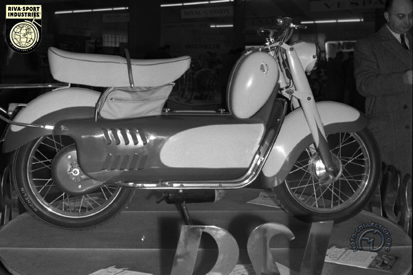 Riva Sport (RSI) Sulky motocyclette motorrad motorcycle vintage classic classique scooter roller moto scooter