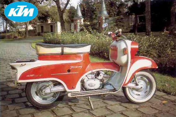 KTM Ponny motocyclette motorrad motorcycle vintage classic classique scooter roller moto scooter