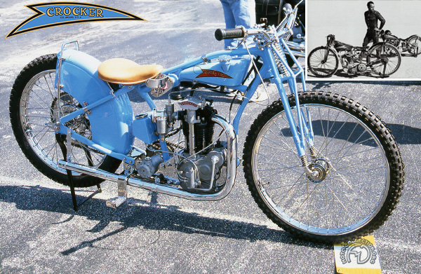 Crocker Speedway motocyclette motorrad motorcycle vintage classic classique scooter roller moto scooter