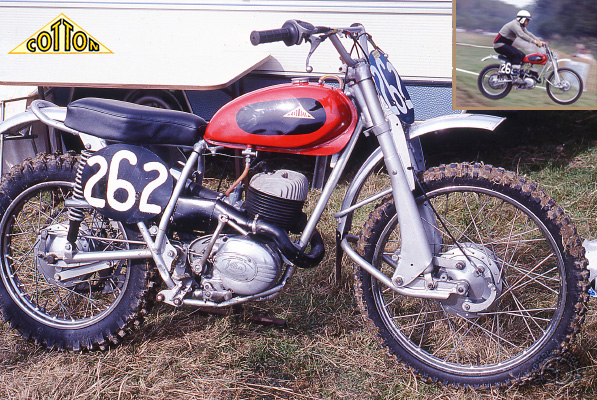 Cotton Scrambler motocyclette motorrad motorcycle vintage classic classique scooter roller moto scooter