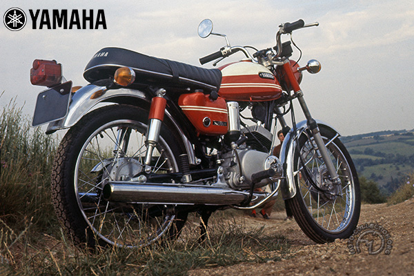 Yamaha Y AS 1 & AS 2 motocyclette motorrad motorcycle vintage classic classique scooter roller moto scooter