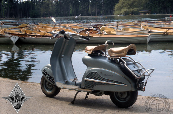 Motobécane - Motoconfort Mobyscoot SC / ST  motocyclette motorrad motorcycle vintage classic classique scooter roller moto scooter
