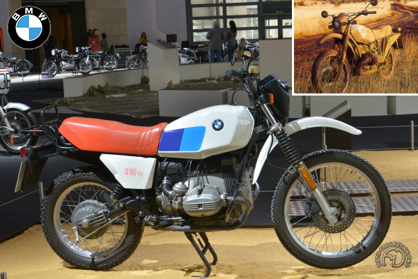 BMW R 80 GS motocyclette motorrad motorcycle vintage classic classique scooter roller moto scooter