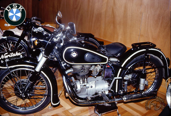 DSK A 25  motocyclette motorrad motorcycle vintage classic classique scooter roller moto scooter
