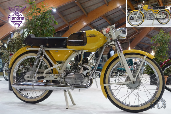 Flandria Record Ultra Sport motocyclette motorrad motorcycle vintage classic classique scooter roller moto scooter