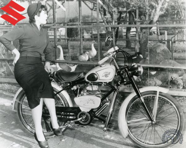 Suzuki DF Diamond Free SJK  motocyclette motorrad motorcycle vintage classic classique scooter roller moto scooter