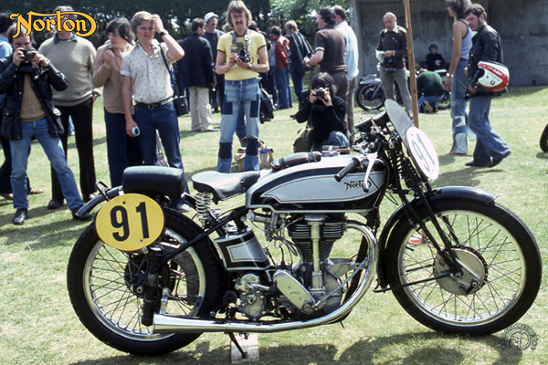 Collection Moto Norton 500 1932-1939