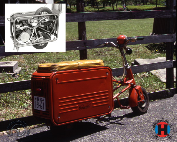 Hirano - Valmobile PSA & PSB  motocyclette motorrad motorcycle vintage classic classique scooter roller moto scooter