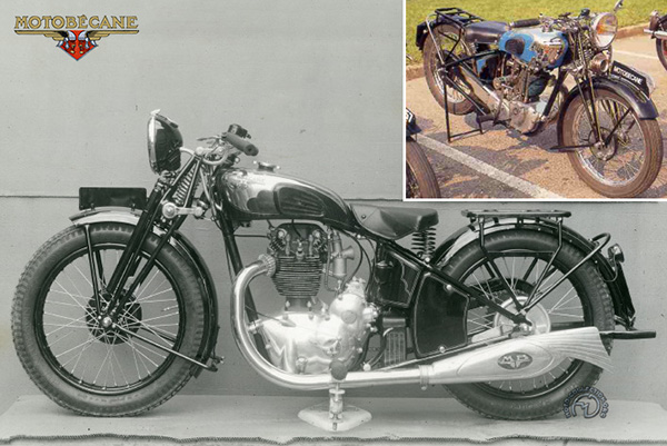 Motobécane - Motoconfort R 4 C (M 4 C) motocyclette motorrad motorcycle vintage classic classique scooter roller moto scooter
