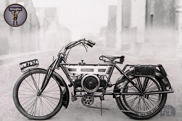 Douglas D motocyclette motorrad motorcycle vintage classic classique scooter roller moto scooter