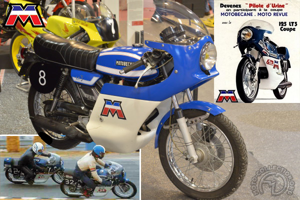 Motobécane (Motoconfort) LT 3 Coupe motocyclette motorrad motorcycle vintage classic classique scooter roller moto scooter