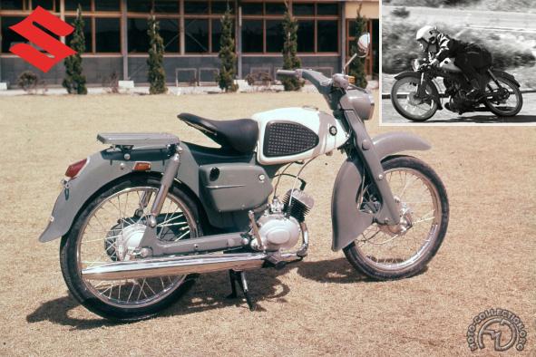 Suzuki M 15 motocyclette motorrad motorcycle vintage classic classique scooter roller moto scooter