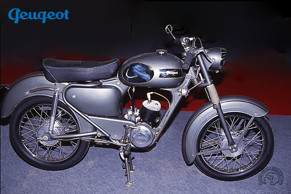 Peugeot GL (Automoto VMSS) motocyclette motorrad motorcycle vintage classic classique scooter roller moto scooter