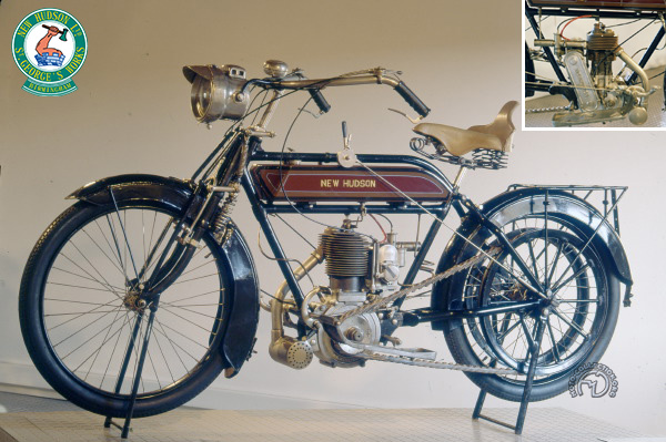 Collection Moto New Hudson 500 1914-