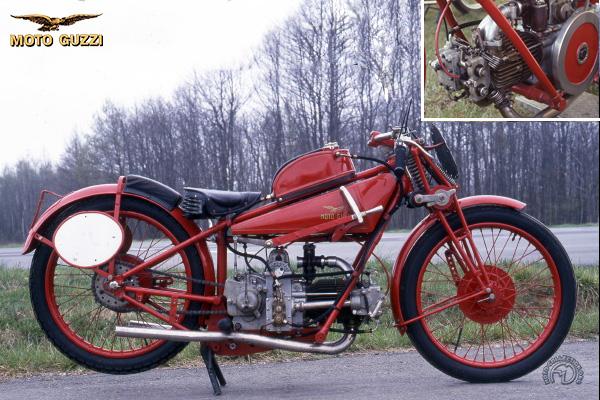 Moto Guzzi C 4 V - 4V TT & 4V SS motocyclette motorrad motorcycle vintage classic classique scooter roller moto scooter