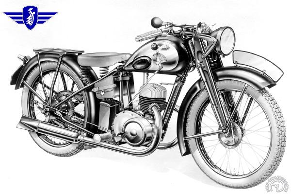 Zündapp Derby motocyclette motorrad motorcycle vintage classic classique scooter roller moto scooter