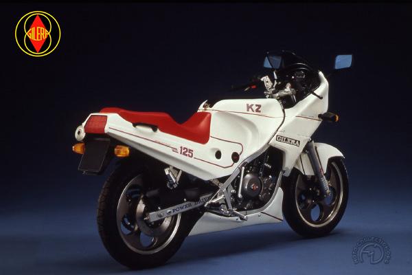 Gilera KZ et KK motocyclette motorrad motorcycle vintage classic classique scooter roller moto scooter