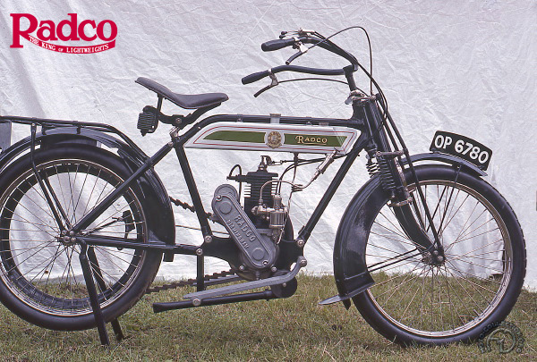 Radco  motocyclette motorrad motorcycle vintage classic classique scooter roller moto scooter