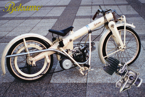 Bekamo TX 175 motocyclette motorrad motorcycle vintage classic classique scooter roller moto scooter