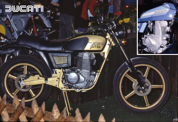 Collection Moto Ducati 350 1977-1977