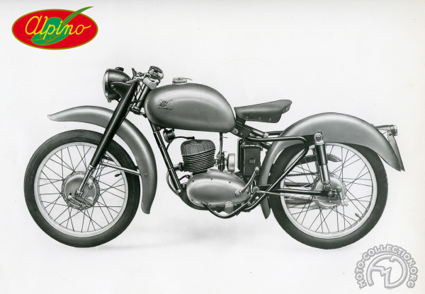 Alpino Gran Sport motocyclette motorrad motorcycle vintage classic classique scooter roller moto scooter