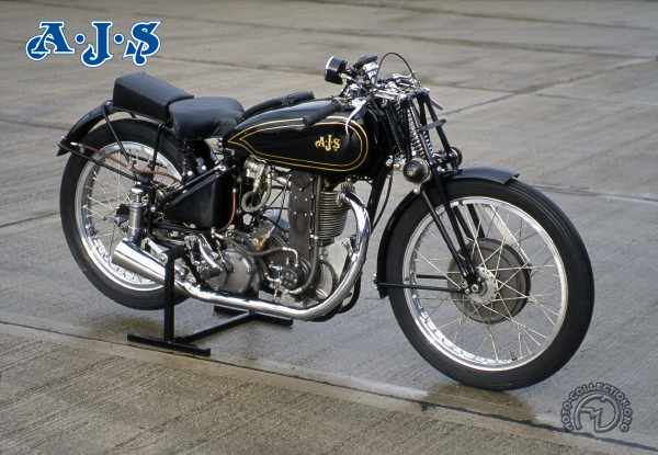 Collection Moto AJS 350 1938-1938