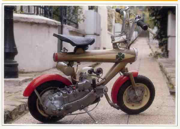 Lambretta Innocenti  Rosella motocyclette motorrad motorcycle vintage classic classique scooter roller moto scooter