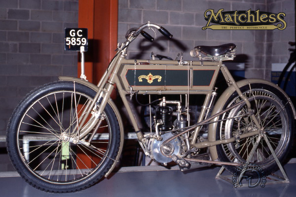 Collection Moto Matchless 500 1903-