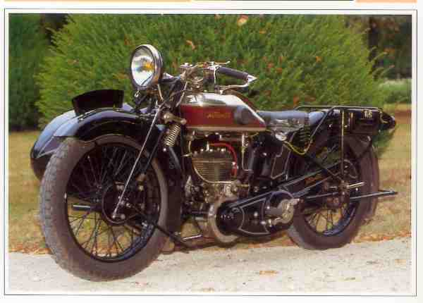 Automoto A 9 Luxe motocyclette motorrad motorcycle vintage classic classique scooter roller moto scooter