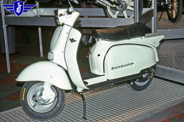 Zündapp R & RS Super motocyclette motorrad motorcycle vintage classic classique scooter roller moto scooter