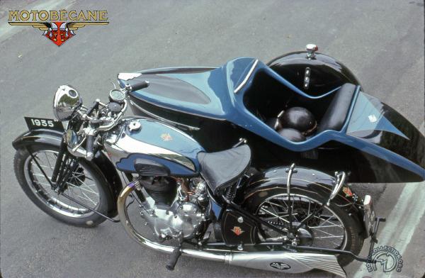Motobécane - Motoconfort R 5 C  side Bernardet motocyclette motorrad motorcycle vintage classic classique scooter roller moto scooter