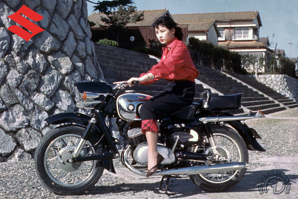 Suzuki TT Colleda  motocyclette motorrad motorcycle vintage classic classique scooter roller moto scooter