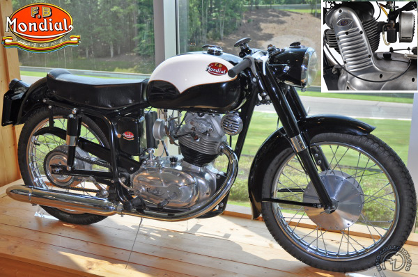 Collection Moto Mondial - FB 175 1953-1955
