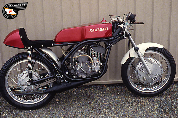 Kawasaki A 1 R AS Daytona motocyclette motorrad motorcycle vintage classic classique scooter roller moto scooter