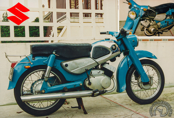 Suzuki SG 2  Seltwin motocyclette motorrad motorcycle vintage classic classique scooter roller moto scooter