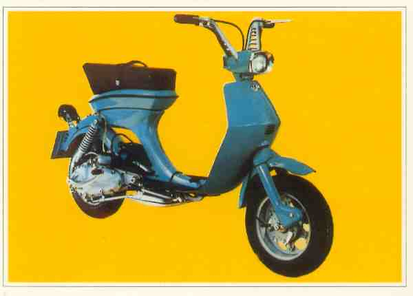 Collection Moto Innocenti Lambretta 50 1968-1969