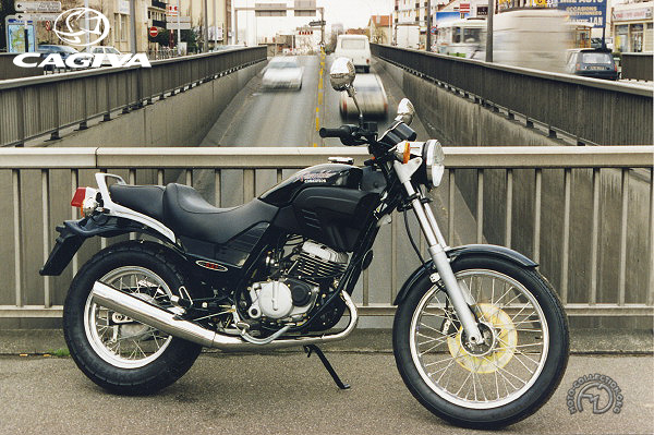 Cagiva Roadster motocyclette motorrad motorcycle vintage classic classique scooter roller moto scooter