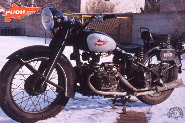 Collection Moto Puch 800 1936-1938